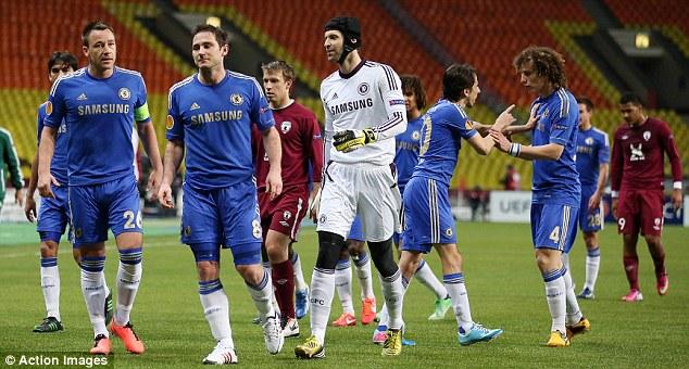 Bóng đá Quốc tế - Bóng đá chiều 12/4: Frank Lampard và David Luiz đấu khẩu trong đường hầm