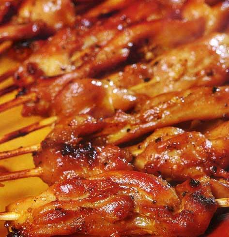 Ấm áp bữa cơm gia đình, Ẩm thực, am thuc, món ngon, phi lê gà xiên nướng, tôm chiên dừa, tôm pho mai chiên xù, cá hồi