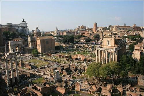 Quảng trường La Mã - All roads lead to Rome