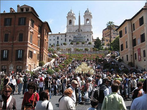 Spanish Steps - All roads lead to Rome