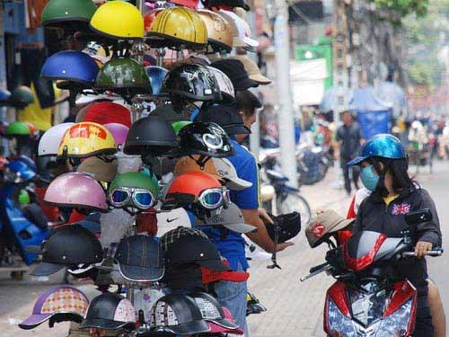 Bản chất loại mũ bảo hiểm giá bèo, Tin tức Việt Nam, Tin tức trong ngày, mu bao hiem, gia beo, chong che, canh sat, giao thong