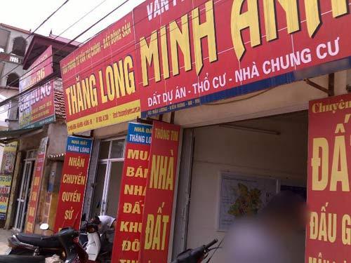 Chợ đất Hà Nội thành chợ vay nóng