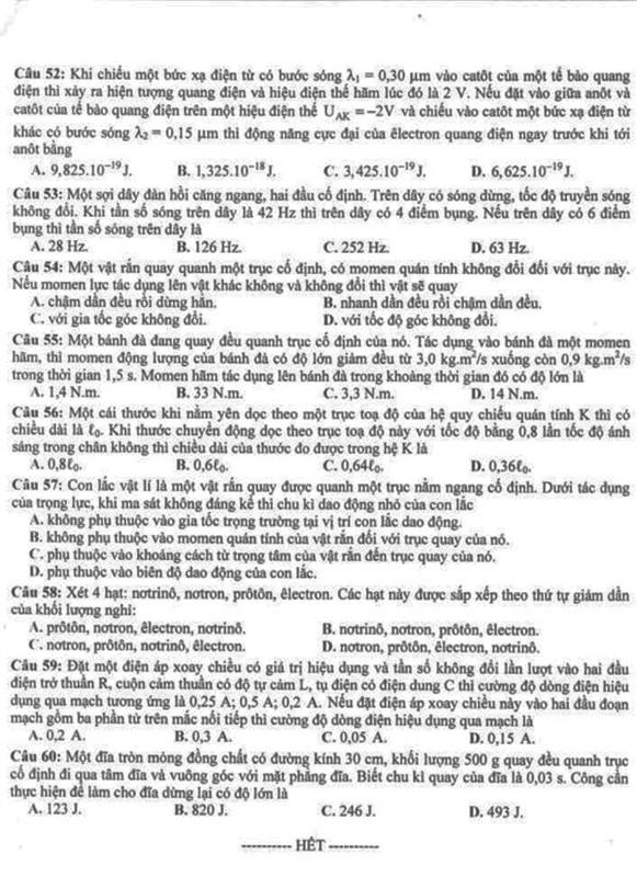 Đề - Đáp án chính thức khối A năm 2011  17_41_1309772285_76_t607545