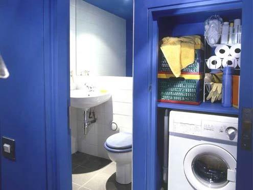 20 mẹo giúp phòng giặt luôn gọn gàng, Không gian đẹp, khong gian dep, tu van noi that, phong tam, phong giat, gon dep, do dung, may giat, may la, may ui