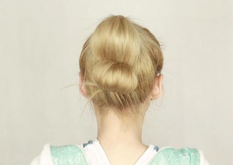 2 kiểu tóc búi mới lạ và đẹp mắt, Làm đẹp, kieu toc dep, kieu toc cong so, toc dep, lam dep toc, tao kieu toc