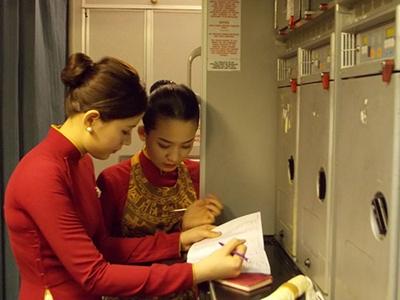 Rủi ro nghề tiếp viên hàng không