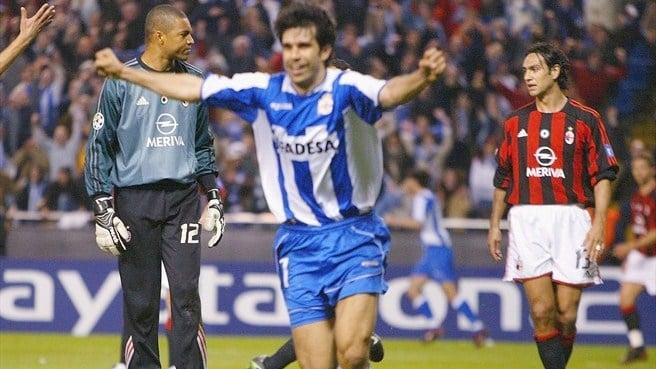Bóng đá Quốc tế - Tứ kết kinh điển Champions League: Deportivo 4-0 AC Milan (Hình 5).