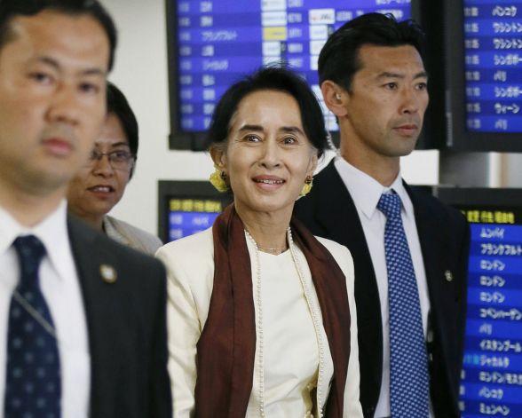 Tiêu điểm - Bà Aung San Suu Kyi sang thăm Nhật Bản