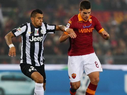 M.U theo sát chân sút số 1 của Roma Erik Lamela