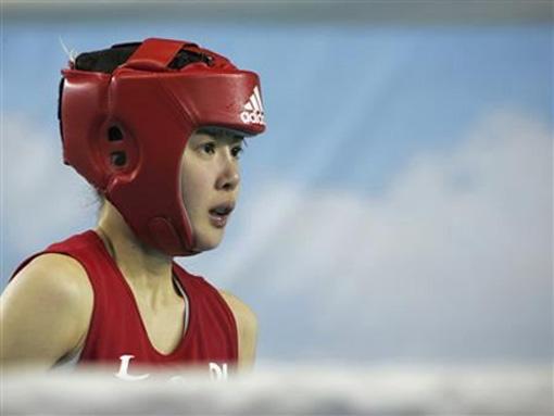 Hậu trường - Nữ boxer Hàn Quốc cực kỳ xinh đẹp