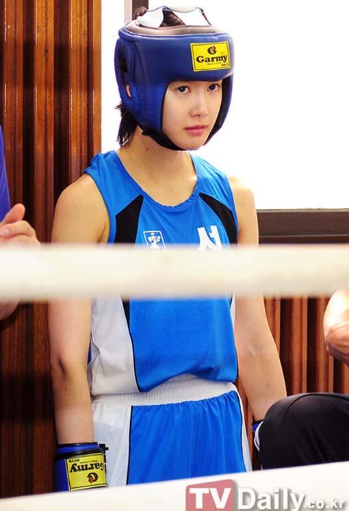 Hậu trường - Nữ boxer Hàn Quốc cực kỳ xinh đẹp (Hình 4).