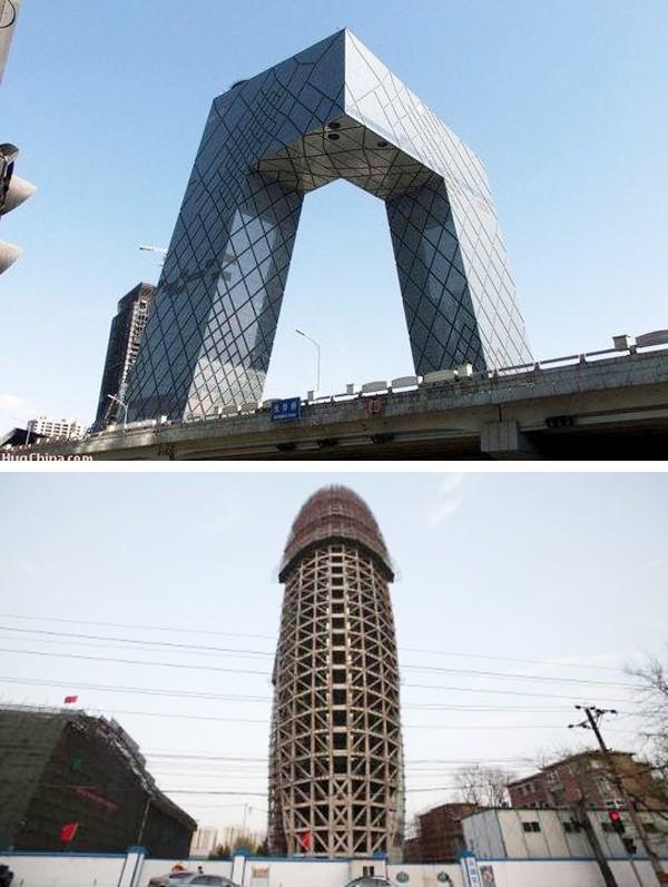 Lạ & Cười - Những bí mật 'phì cười' về tòa nhà 'của quý' ở Trung Quốc (Hình 2).