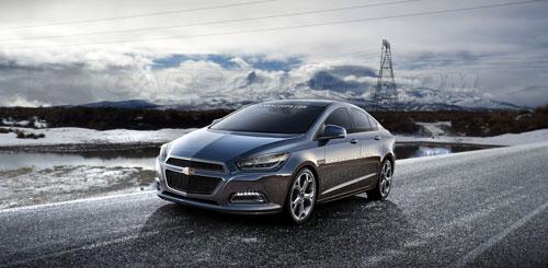 GM rò rỉ hình ảnh Chevrolet Cruze 2015