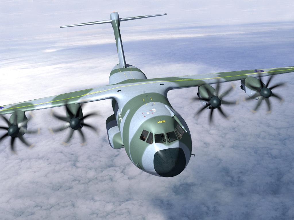 Châu Âu trình làng máy bay quân sự khổng lồ