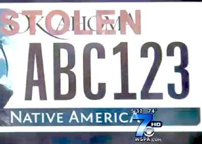 Biển số xe chống trộm