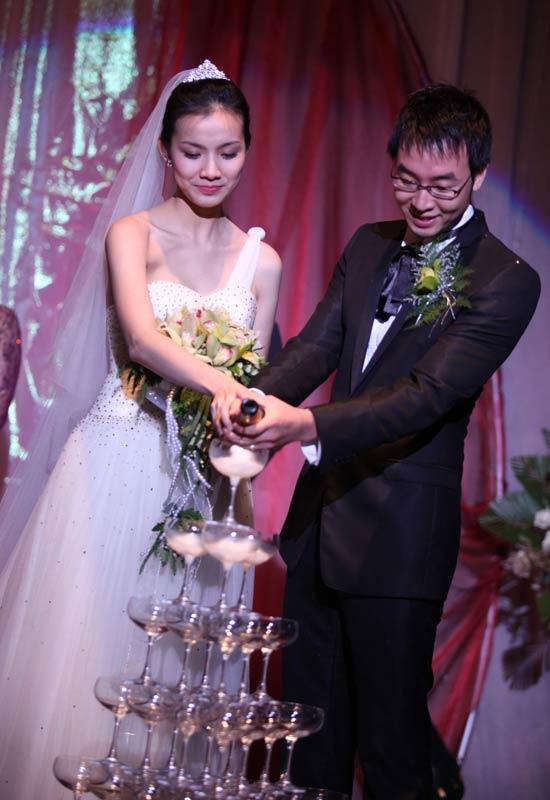 Hình ảnh Toàn cảnh đám cưới Hoa hậu Thùy Lâm số 21