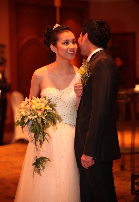 Hình ảnh Toàn cảnh đám cưới Hoa hậu Thùy Lâm số 8