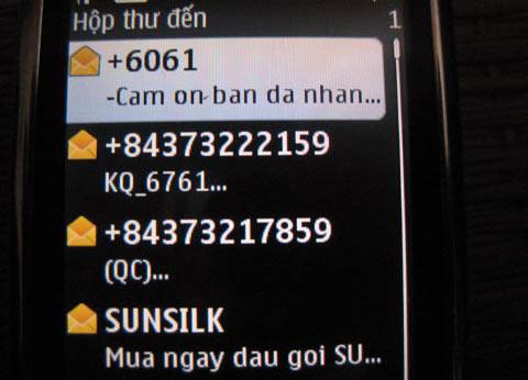 Hình ảnh Từ chối tin nhắn rác: Mỡ ta rán ta số 2