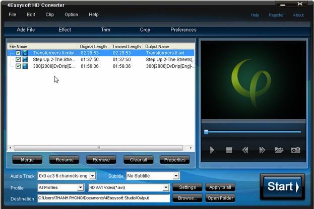 Hình ảnh Khám phá phần mềm chỉnh sửa, chuyển đổi phim HD số 1