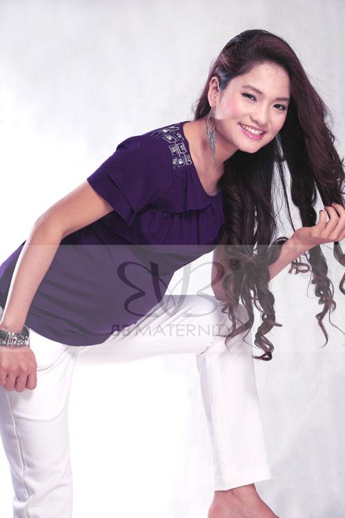 Hình ảnh Phong cách BB JEANS dành cho bà bầu 8/03.. số 4