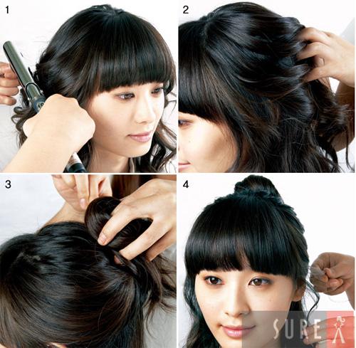 Hình ảnh Mách bạn cách quấn tóc kiểu Hàn Quốc số 10