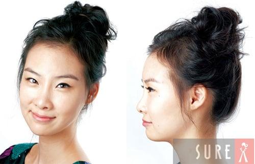 Hình ảnh Mách bạn cách quấn tóc kiểu Hàn Quốc số 3