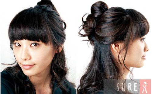 Hình ảnh Mách bạn cách quấn tóc kiểu Hàn Quốc số 9