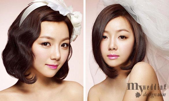 Hình ảnh Làm đẹp cho cô dâu tóc ngắn số 3