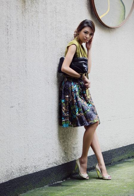 Hình ảnh Mặc váy xòe xếp ly thật đẹp! số 18