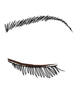 Đôi mắt hút hồn như Keira Knightley 2