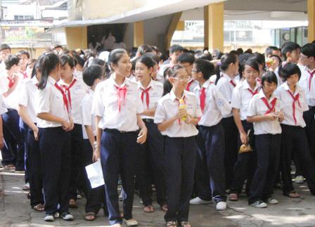 Hình ảnh 2010: Thêm 14 trường THPT công lập và tư thục tại TPHCM số 1