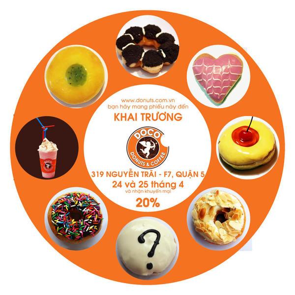 Hình ảnh Một địa chỉ cho các bạn mê Donut số 1