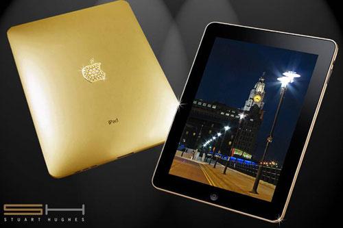 iPad dát vàng giá 189.000 USD