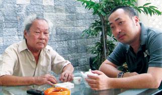 Hình ảnh Nhà văn Nguyễn Quang Sáng dạy con rất ngộ số 1