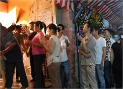 Hình ảnh Những giọt nước mắt trong đám tang Hữu Lộc số 14