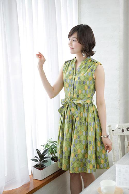 Hình ảnh Váy xòe nhẹ xinh lung linh trong nắng số 8