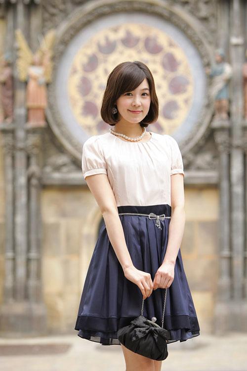 Hình ảnh Váy xòe nhẹ xinh lung linh trong nắng số 24