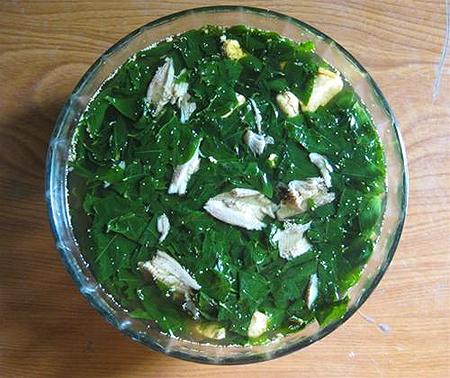 Hình ảnh Canh rau ngót nấu cá rô đồng số 1