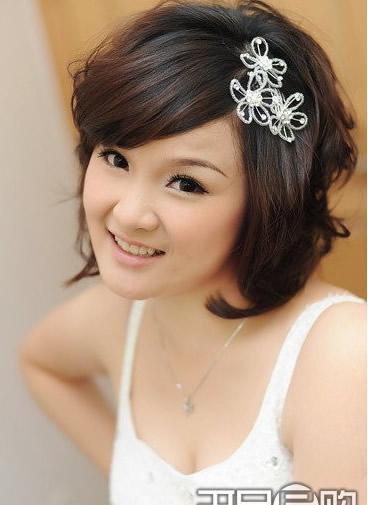 Hình ảnh Cô dâu xinh xinh với những kiểu tóc mốt nhất số 5