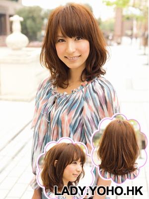 Hình ảnh Cách điệu xinh xắn với tóc dài ngang vai số 3