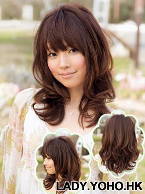 Hình ảnh Cách điệu xinh xắn với tóc dài ngang vai số 6