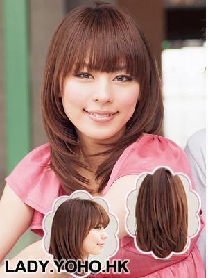 Hình ảnh Cách điệu xinh xắn với tóc dài ngang vai số 8
