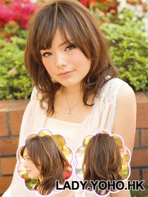 Hình ảnh Cách điệu xinh xắn với tóc dài ngang vai số 5