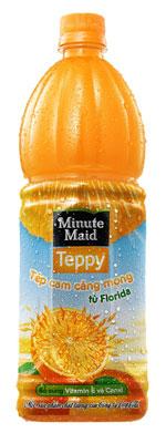 Hình ảnh Nước cam Minute Maid Teppy số 1