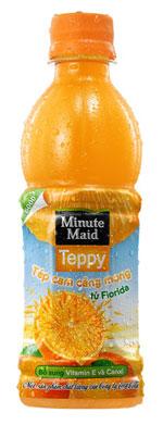 Hình ảnh Nước cam Minute Maid Teppy số 2