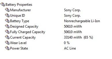 Hình ảnh Kiểm tra mức độ chai của pin laptop số 2