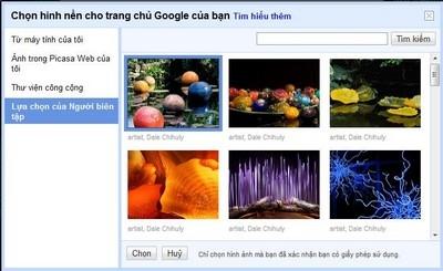 Hình ảnh Hướng dẫn thay đổi hình nền cho trang chủ Google số 2