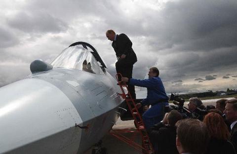 Hình ảnh Chiêm ngưỡng máy bay chiến đấu tối tân nhất của Nga số 2