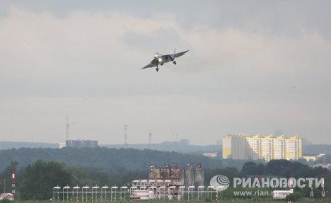 Hình ảnh Chiêm ngưỡng máy bay chiến đấu tối tân nhất của Nga số 4