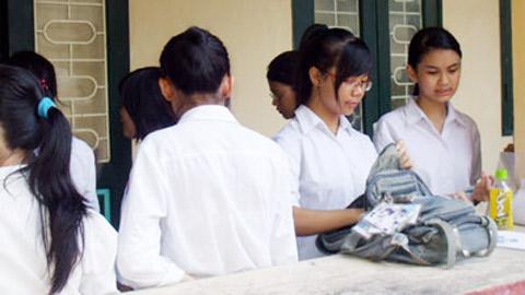 Hình ảnh Hà Nội: Sắp công bố điểm thi vào lớp 10 số 1